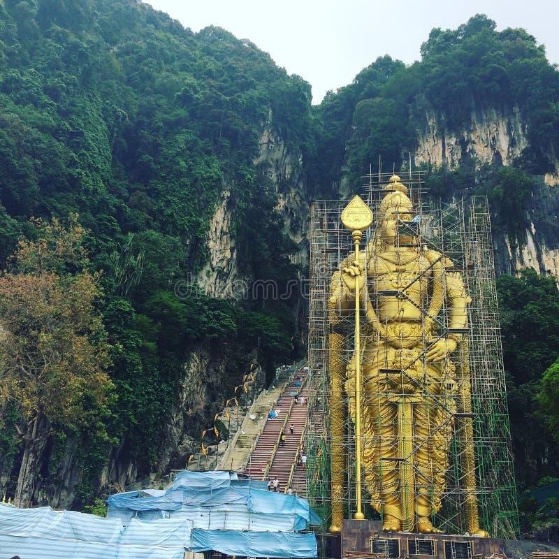 Batu grottor, Malaysia royaltyfri bild