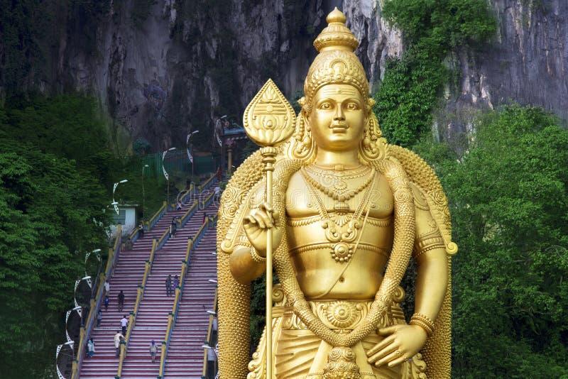 Batu Höhlen, Kuala Lumpur, Malaysia lizenzfreies stockbild