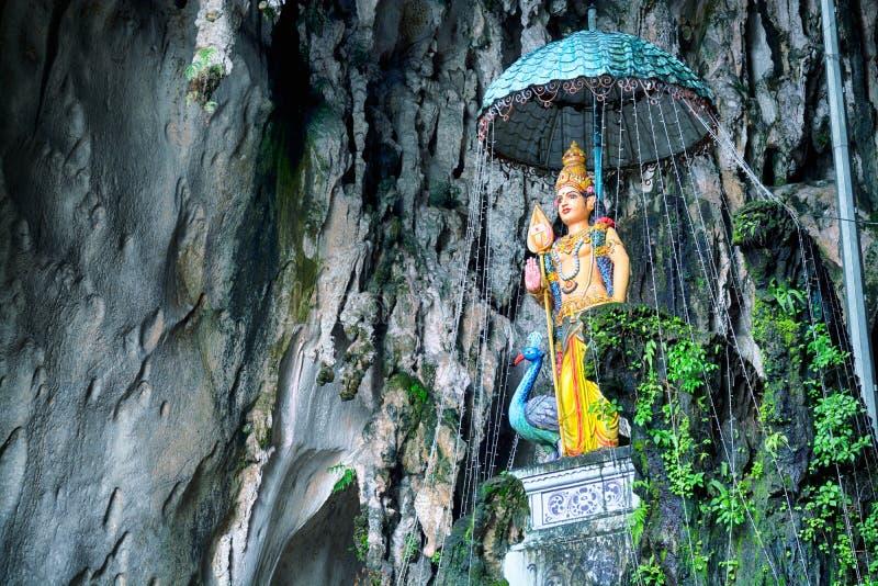 Batu Höhlen, Kuala Lumpur, Malaysia lizenzfreies stockfoto