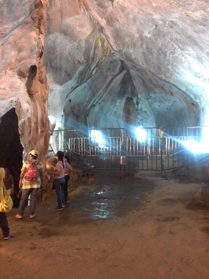 Batu höhlt Malaysia aus lizenzfreies stockbild