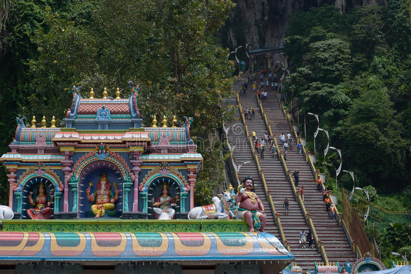 batu jaskiniowy Kuala Lumpur Malaysia blisko obraz royalty free