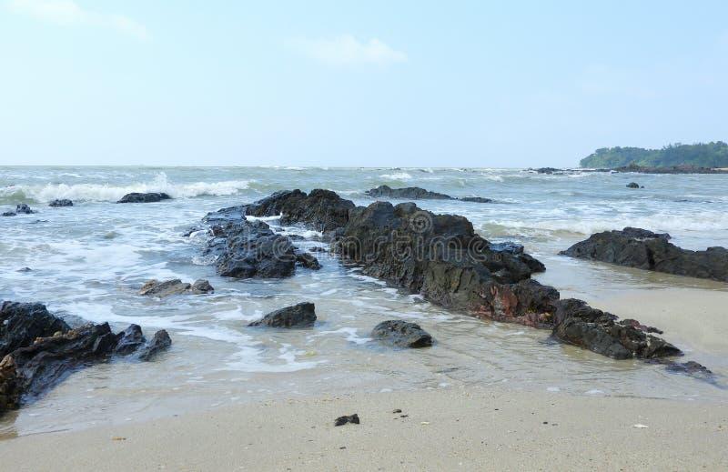 Batu Layar strand royaltyfri foto