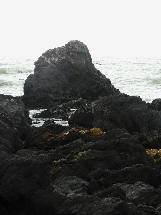 Batu Layar strand arkivbild