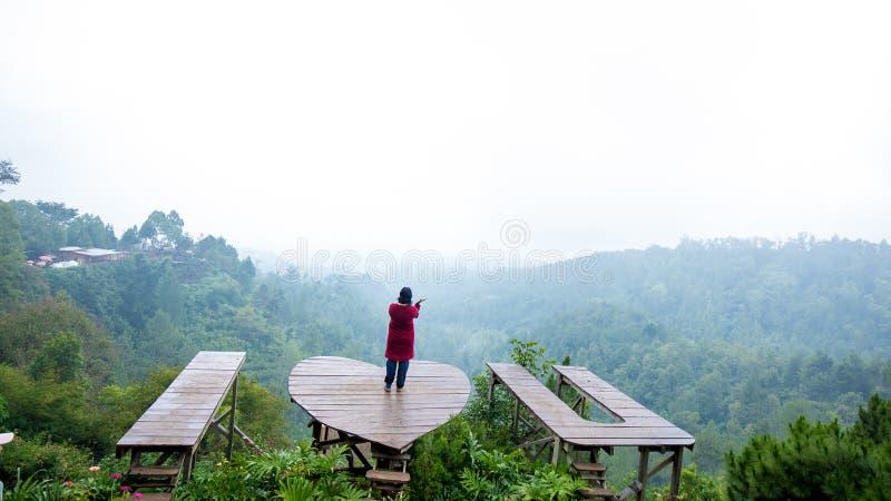 Selecta flower garden in Batu Malang, Indonesia. Batu Malang, East Java, Indonesia - May 2018 : Area of photo at Selecta Batu Flower garden in Malang with wood stock photos
