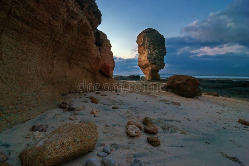 Batu Payung plaża, Lombok Indonezja zdjęcie stock