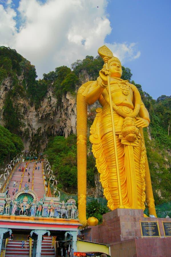 Batu scava Lord Murugan in Kuala Lumpur, Malesia fotografia stock