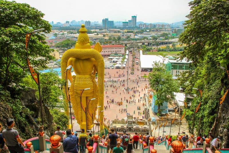 Batuholen in Kuala Lumpur, Maleisi? royalty-vrije stock foto