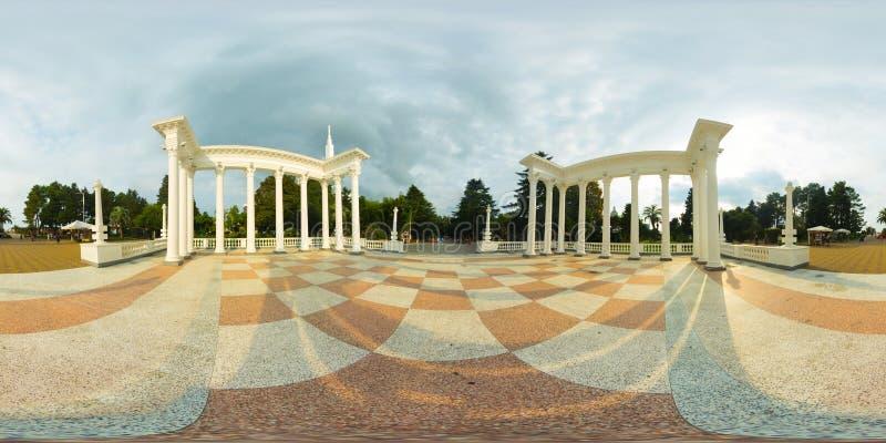 Batume Gruzja 360 Vr panorama zdjęcia stock