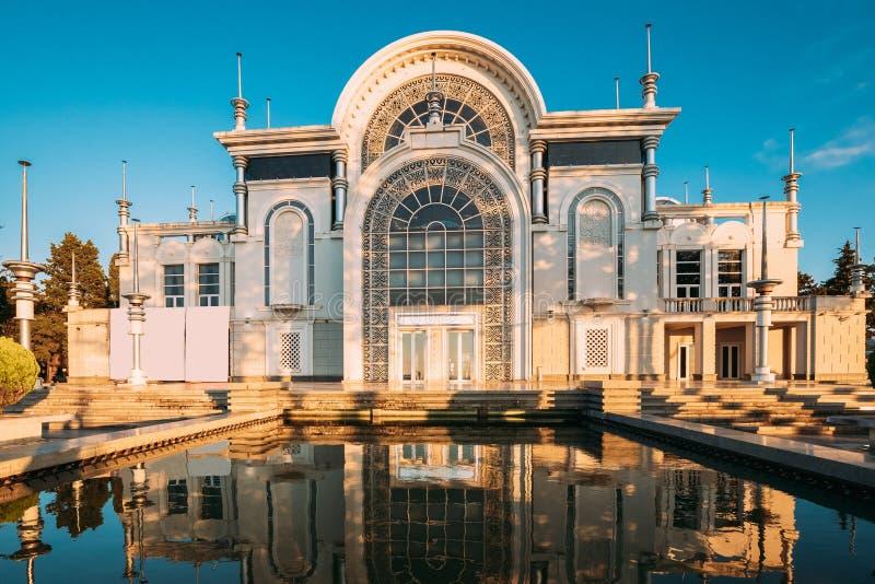 Batumi, Adjara, Γεωργία Το Κρατικό Μουσικό Κέντρο Περιλαμβάνει Την Κρατική Συμφωνική Ορχήστρα Batumi Και Την Κάπελα, Ομάδα Μπαλέτ στοκ φωτογραφία με δικαίωμα ελεύθερης χρήσης