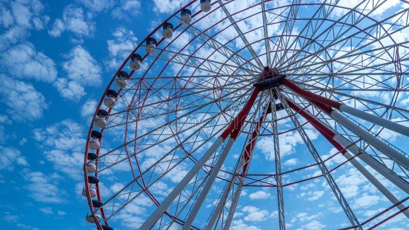Batumi ferris wheel royalty free stock photos