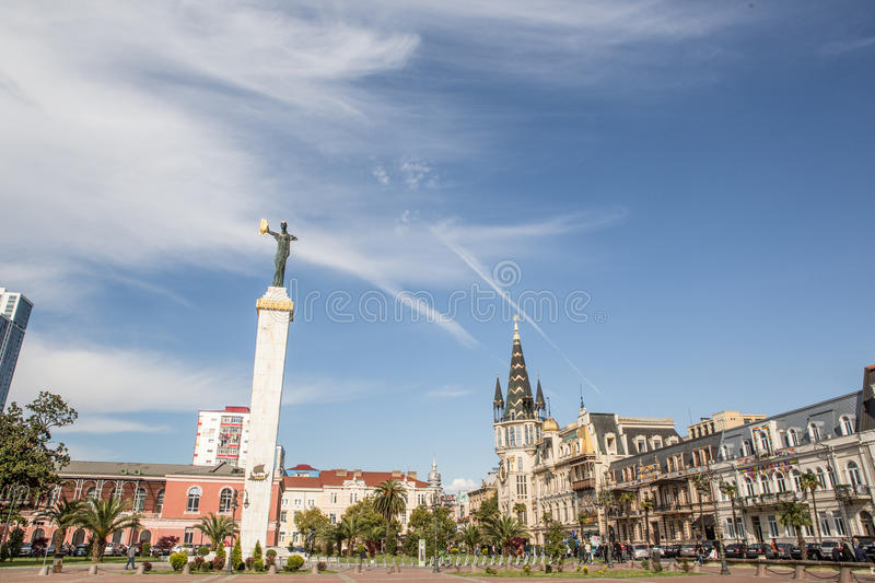 Batumi, Georgia royalty free stock photo