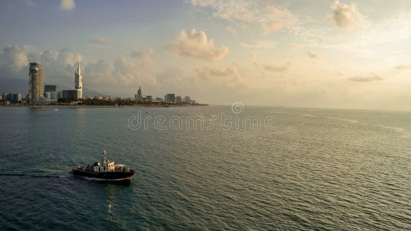 Batumi krajobraz fotografia royalty free