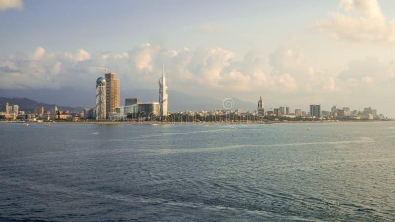 Batumi krajobraz zdjęcia stock