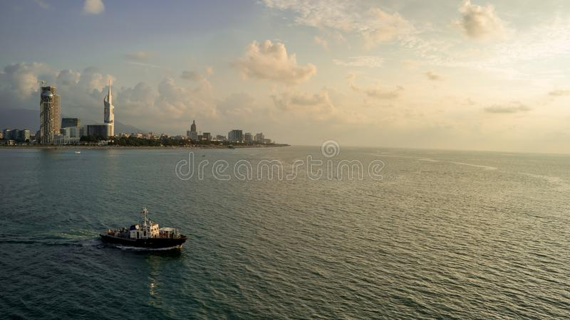 Batumi landscape royalty free stock photography