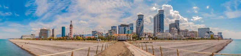 Batumi panorama III royaltyfria bilder