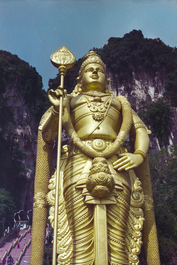 Batur洞, Muruga瓜拉Lampur,马来西亚 免版税库存照片