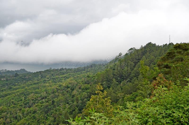 Batur di Volcano Gunung bali l'indonesia fotografia stock
