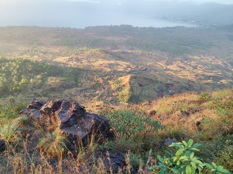 Batur Gunung стоковые фотографии rf