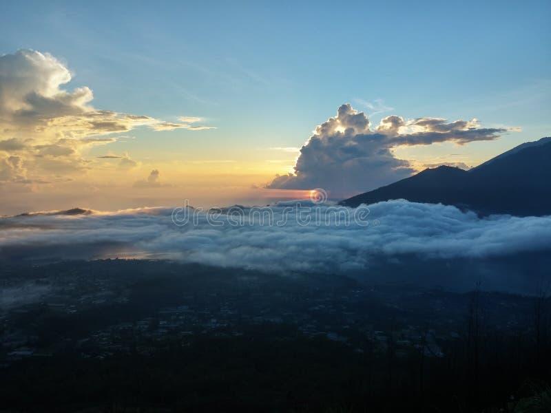 Batur Gunung стоковые фото
