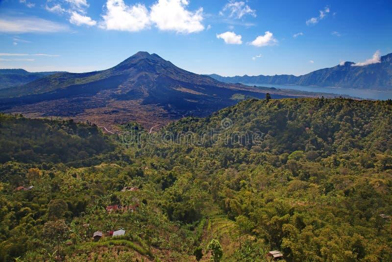 batur wulkan obrazy royalty free