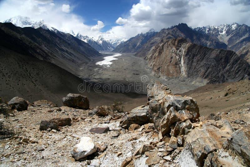 Batura Gletscher stockbild