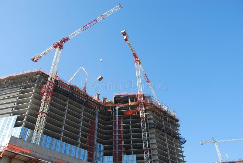 Bau-Aufzug stockfotografie