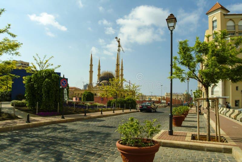 Bau Mohammad al-Amin Mosques in Beirut, der Libanon stockfoto
