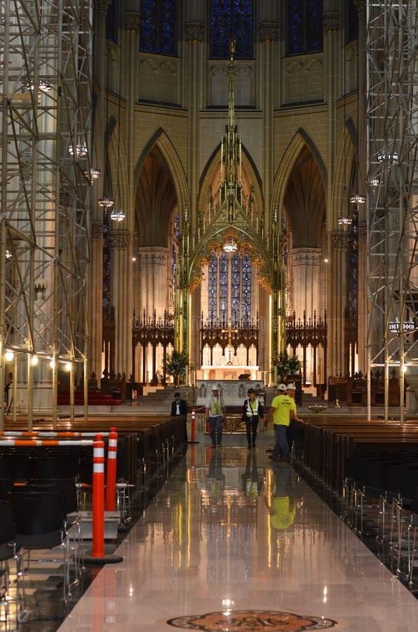 Bau-St Patrick Kathedrale lizenzfreie stockfotografie