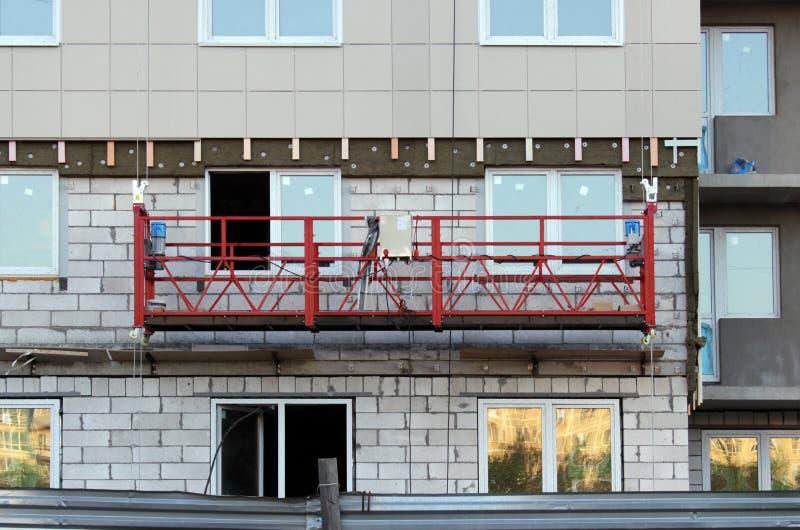 Bau verschobene Wiege lizenzfreies stockbild