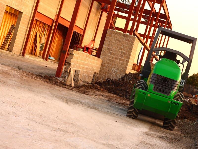 Bau-Yard lizenzfreie stockfotografie