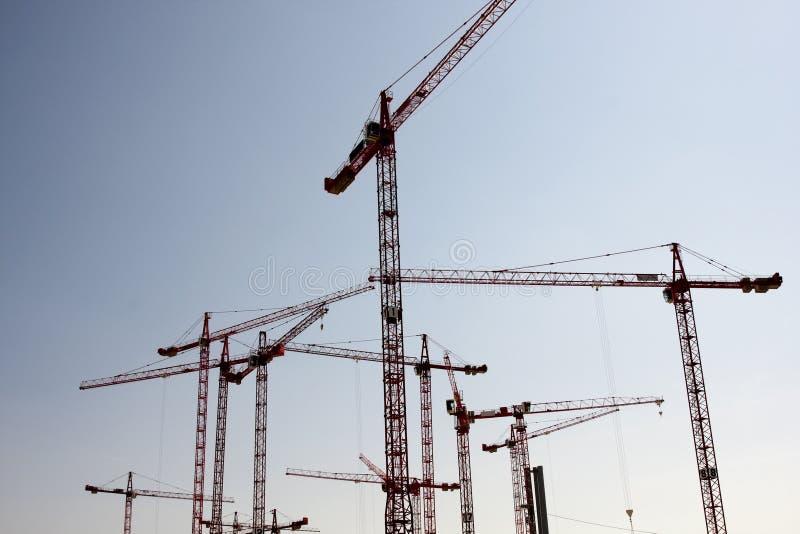 Bauarbeit-Site stockfoto