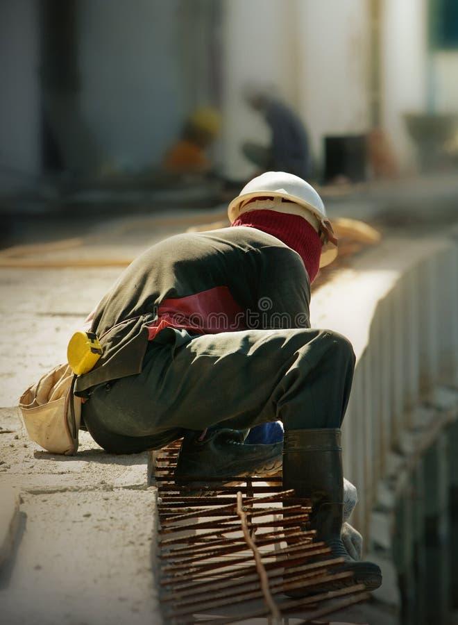 Bauarbeiter lizenzfreie stockbilder