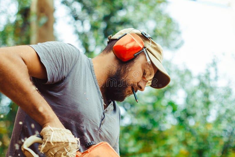 Bauarbeiter At Work stockbilder