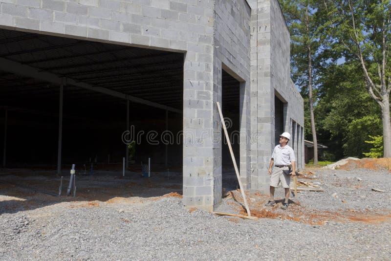 Bauaufsichtsbeamter lizenzfreie stockfotos