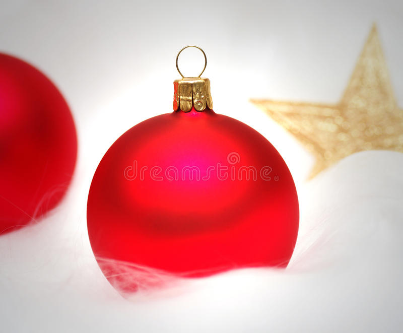 Bauble do Natal foto de stock