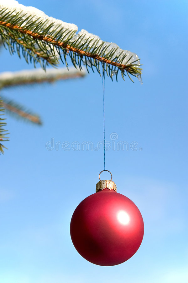 Bauble do Natal imagens de stock royalty free