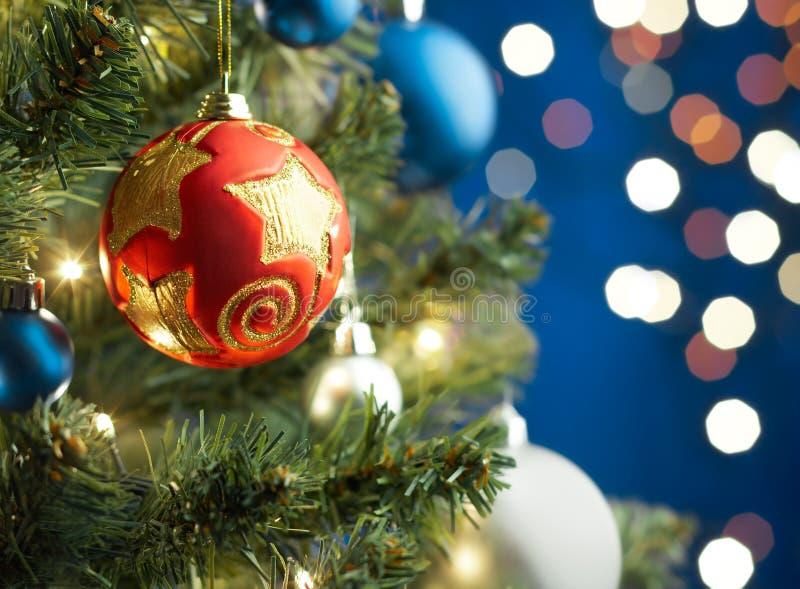 Bauble do Natal imagem de stock