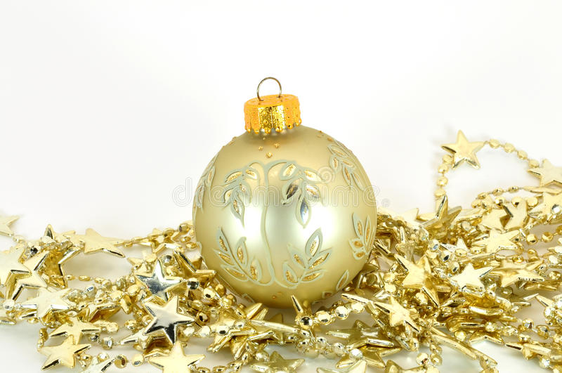 Download Bauble with stars stock photo. Image of hanging, bauble - 15557128