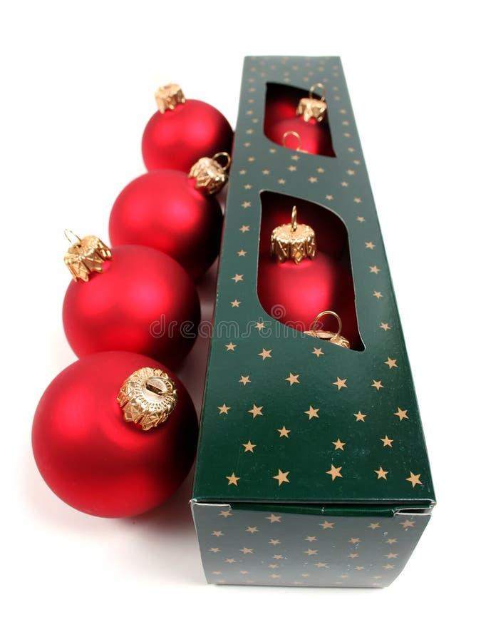 baubles Świąt polu zdjęcia stock