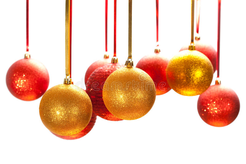 Baubles royalty free stock photo