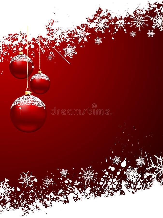 Baubles Boże Narodzenia Zdjęcie Stock