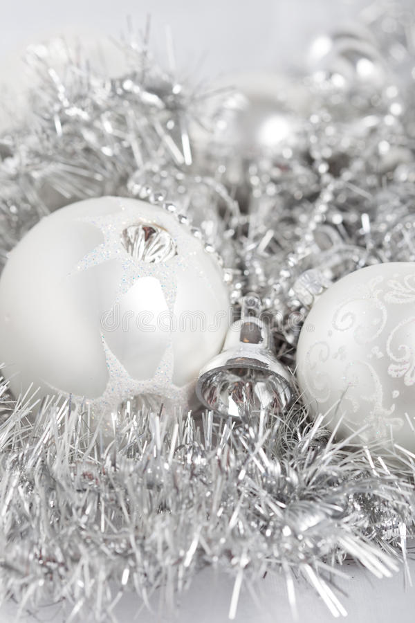 Baubles do Natal imagem de stock