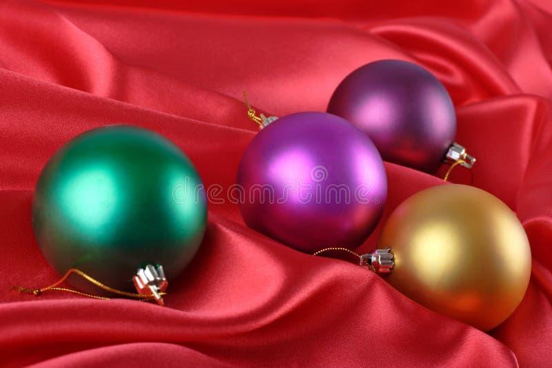 Baubles do Natal imagem de stock royalty free