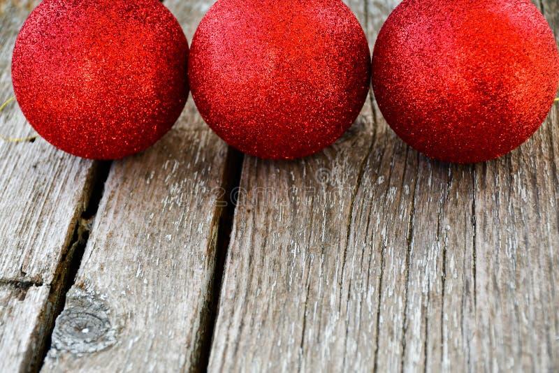 baubles Ornamento de la Navidad fotografía de archivo