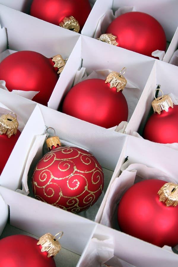 baubles polu świąt zdjęcie royalty free