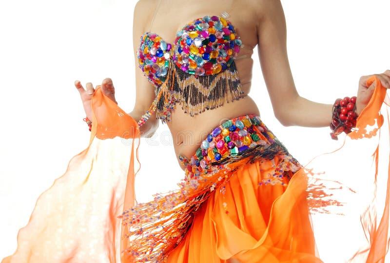 Bauch-tanzen Sie stockfotografie