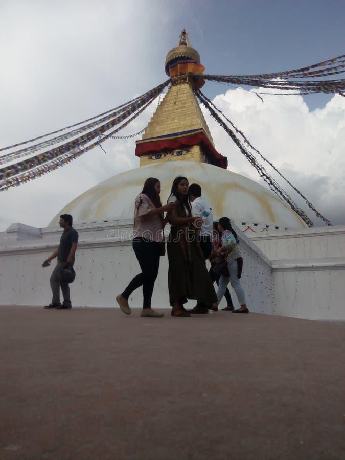 Baudha στοκ φωτογραφία