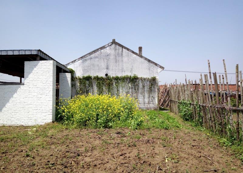 Bauernhaus im chinesischen Süddorf stockbild