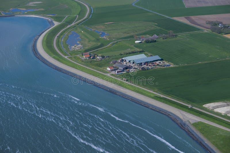 Bauernhof auf Texel lizenzfreie stockfotografie