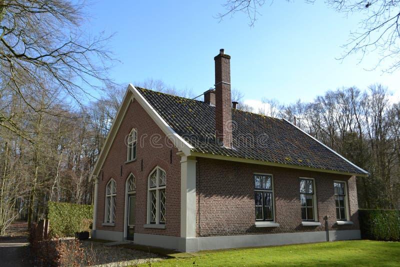 Bauernhof in den Niederlanden stockbild